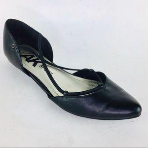 "Anne Klein AK Sport Black Slip-On 1/2"" Heel Shoes"